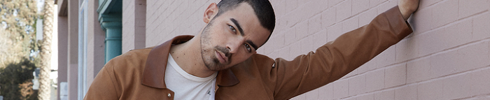 Joe Jonas Something About SS17 Issue Preview