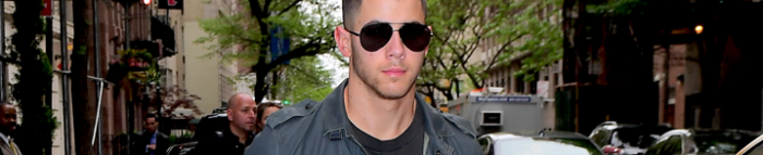 Nick out in New York City – 1st May