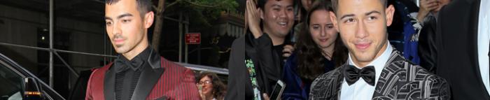 Nick and Joe heading to the Met Gala in New York City – 1st May