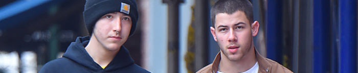 Nick and Frankie out in Manhattan, New York – 8th May