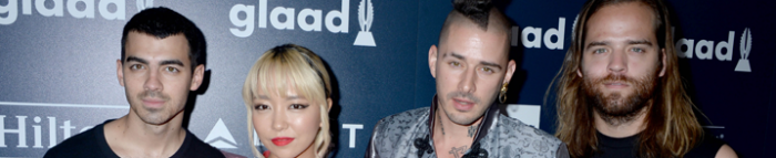 DNCE Talks Equality, Dream Collaborations at the GLAAD Media Awards